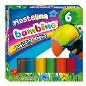 BAMBINO MAJEWSKI PLASTELINA 6 KOL STANDARD