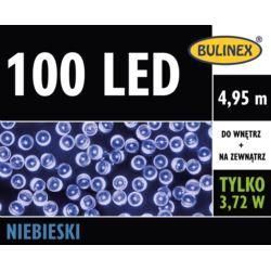 LAMPKI LED 100L Z ZASILACZEM NIEBIESKI