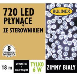 LAMPKI LED 720L PŁYNĄCE Z ZASILACZEM, BIAŁY