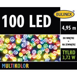 LAMPKI LED 100L Z ZASILACZEM MULTIKOLOR