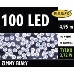 LAMPKI LED 100L Z ZASILACZEM BIAŁY