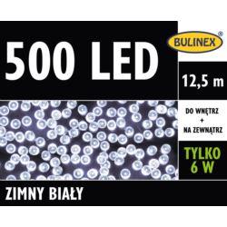 LAMPKI LED 500L Z ZASILACZEM, BIAŁY