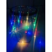LAMPKI LED NITKI 100L NA BATERIE MULTIKOLOR