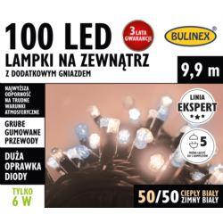 LAMPKI LED 100L ZEWN.DOD.GNIAZ.MIX BIAŁY/BIAŁY CIE
