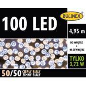 LAMPKI LED 100L Z ZASILACZEM MIX B.CIEPŁY/B.ZIMNY