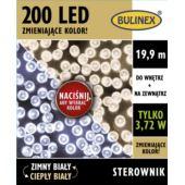 LAMPKI LED 200L Z ZASILACZEM WYBIERZ KOLOR