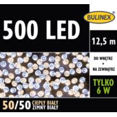 LAMPKI LED 500L Z ZASILACZEM MIX B.CIEPŁY/B.ZIMNY
