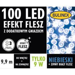 LAMPKI LED 100L FLESZ D/G NIEBIESKI