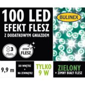 LAMPKI LED 100L FLESZ D/G ZIELONY