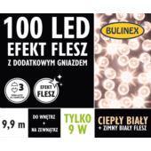 LAMPKI LED 100L FLESZ D/G BIAŁY CIEPŁY