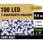 LAMPKI LED 100L Z DOD.GN Z ZASILACZEM BIAŁY