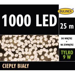 LAMPKI LED 1000L Z ZASILACZEM BIAŁY CIEPŁY