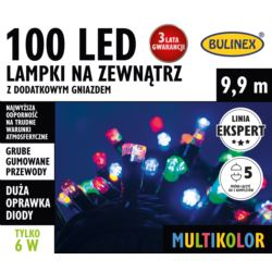 LAMPKI LED 100L ZEWN.DOD.GNIAZ.MULTIKOLOR