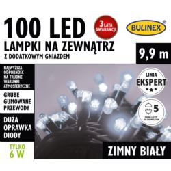 LAMPKI LED 100L ZEWN.DOD.GNIAZ.BIAŁY