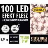 LAMPKI LED 100L FLESZ D/G CIEPŁY BIAŁY, CIEPŁY B.F