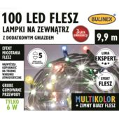LAMPKI FLESZ LED 100L ZEWN.Z DOD.GNIAZ.MULTIKOLOR