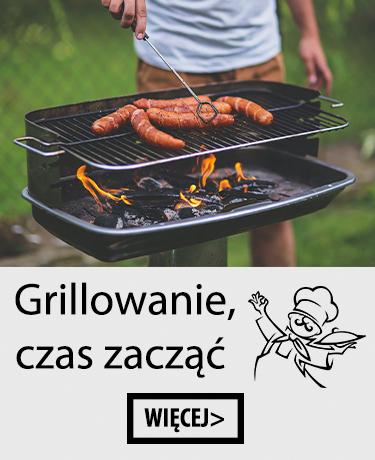 Grille, podpałki, brykiet, akcesoria do grilla