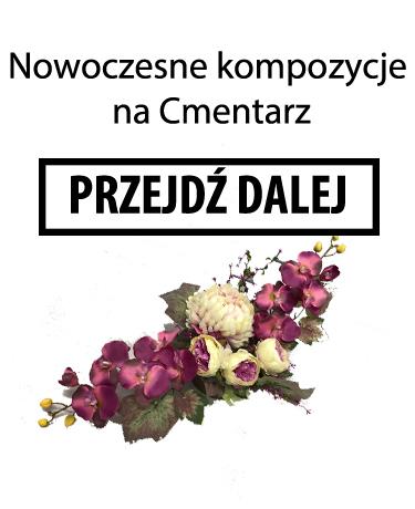 Kwiaty sztuczne na cmentarz